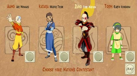 Screenshot - Avatar 4 Nations Tournament