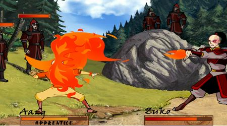 Screenshot - Avatar Bending Battle
