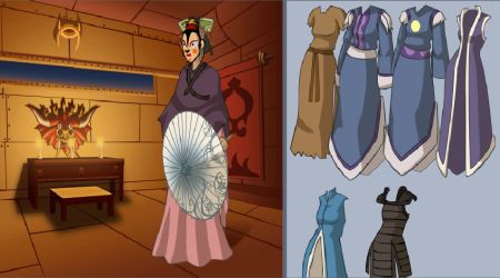 Screenshot - Katara Dress Up